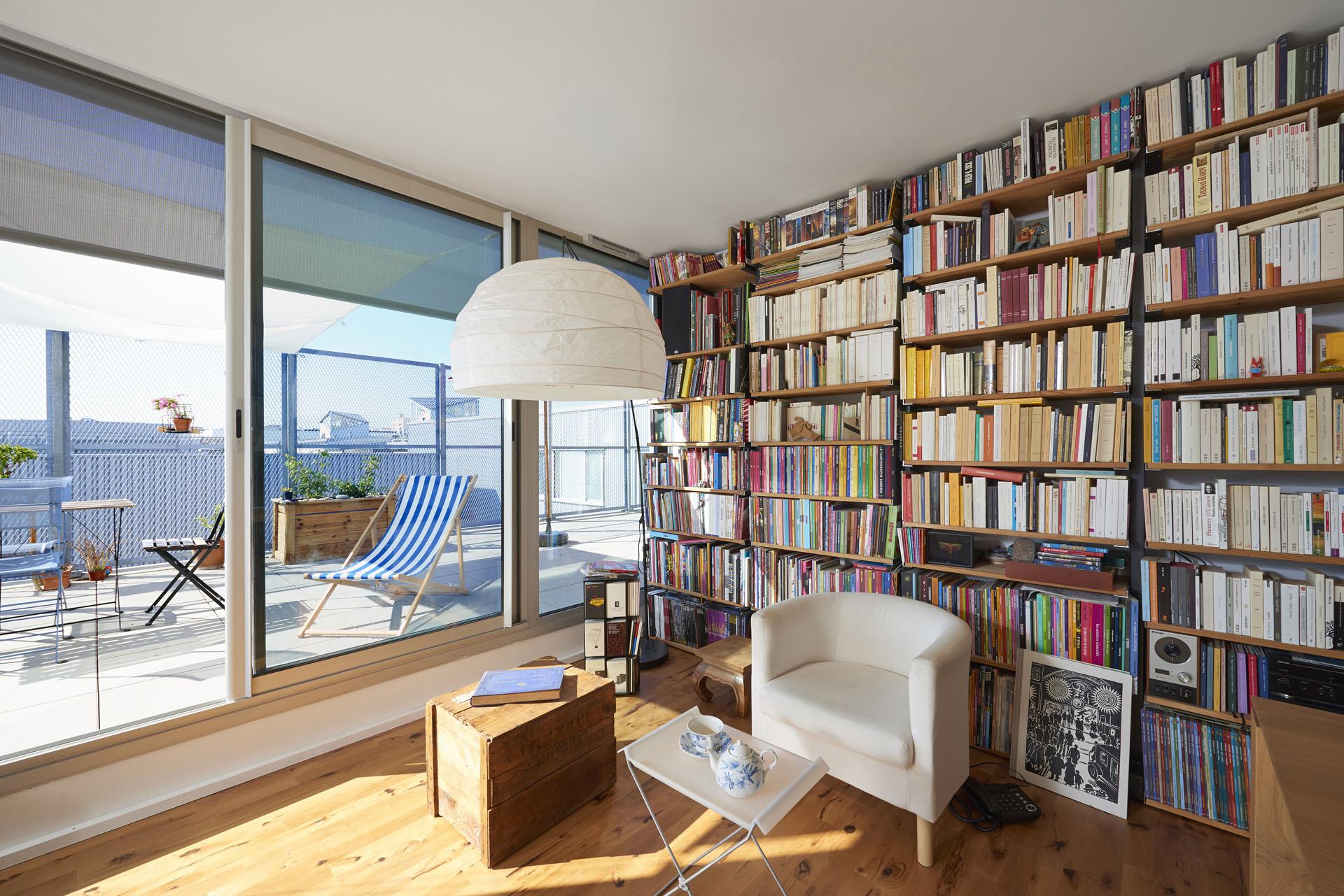 mobilier sur mesure avec aménagement d'un appartement
