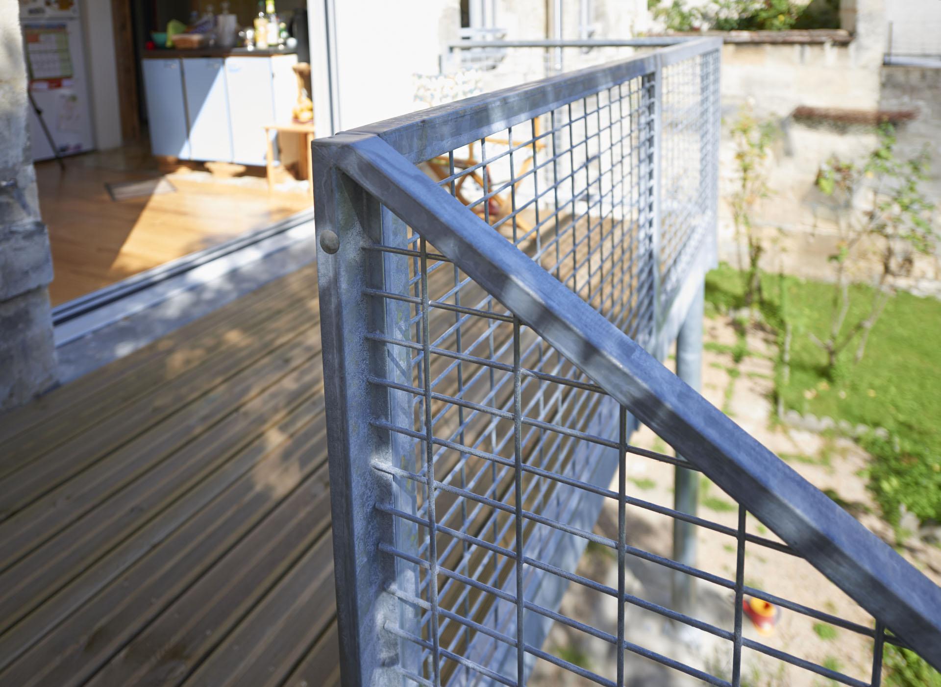 extension d'une échoppe, création d'une terrasse à Bordeaux