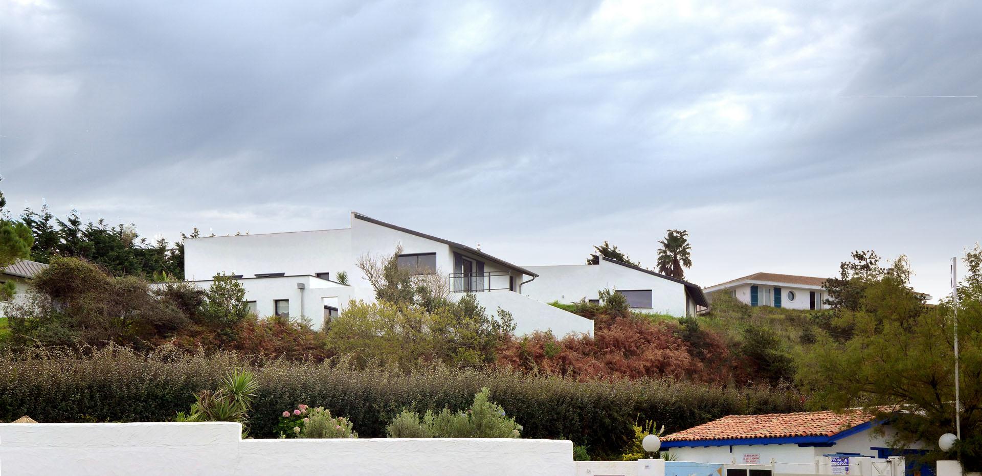 architecte constuction villa contemporaine Biarritz