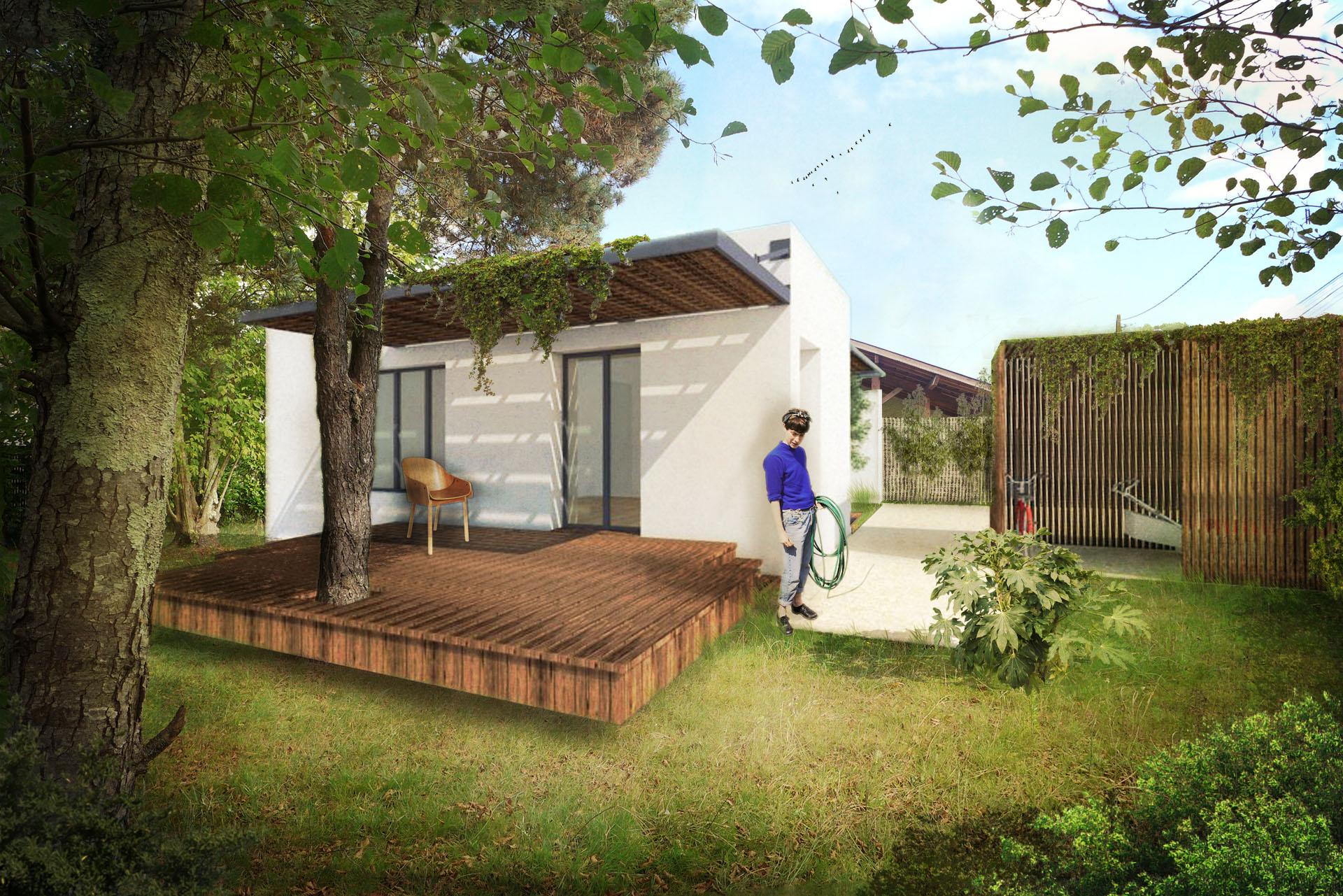 Construction de villa en Gironde, proximité Bordeaux