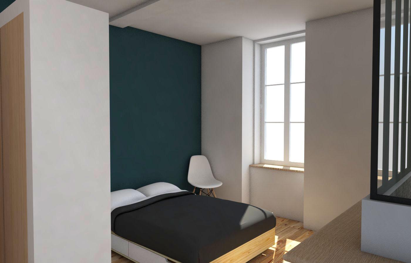 réhabilitation maison dans le centre historique de Bordeaux