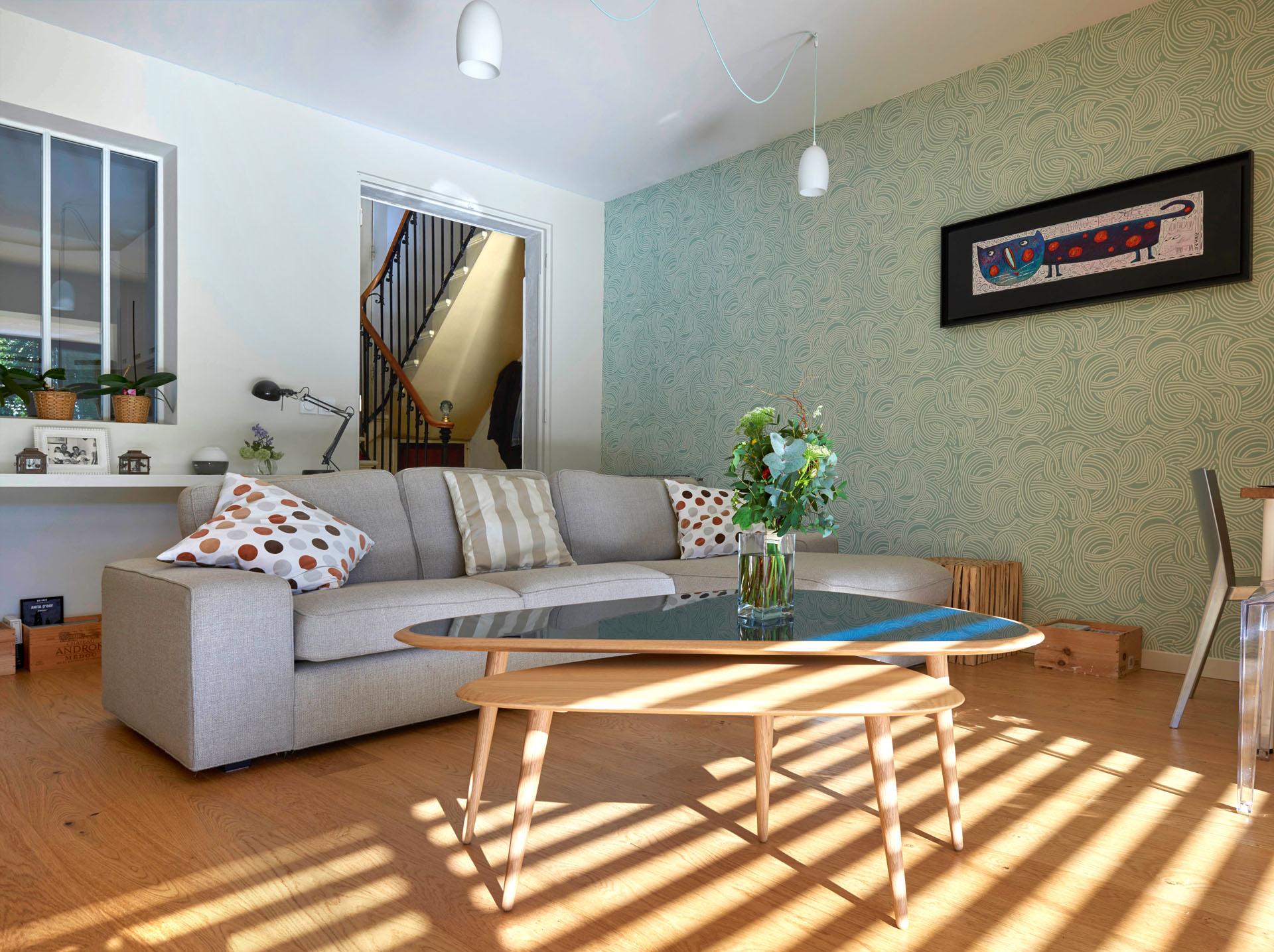 Réhabilitation et extension d'une maison en pierre aux Chartrons