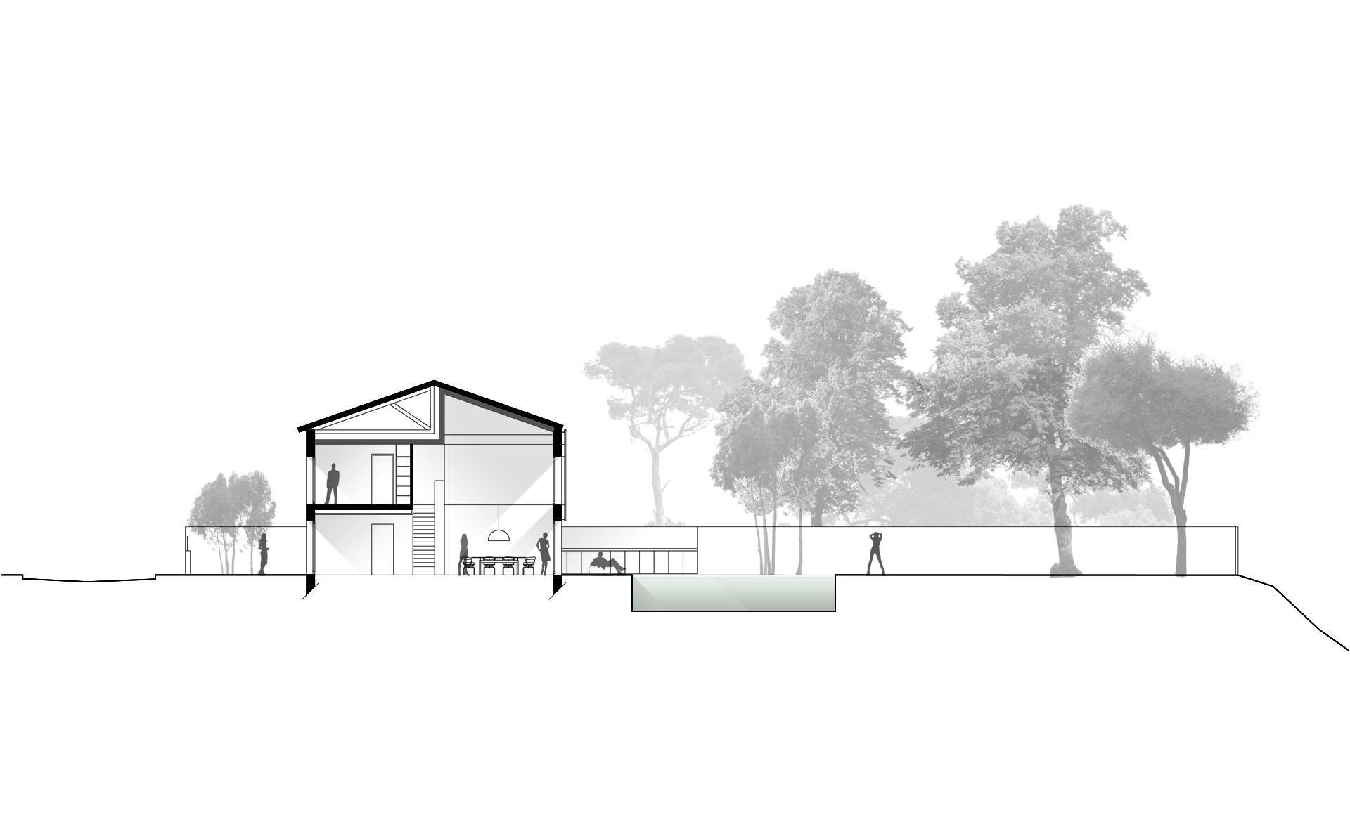 construction maison d'architecte à Bordeaux