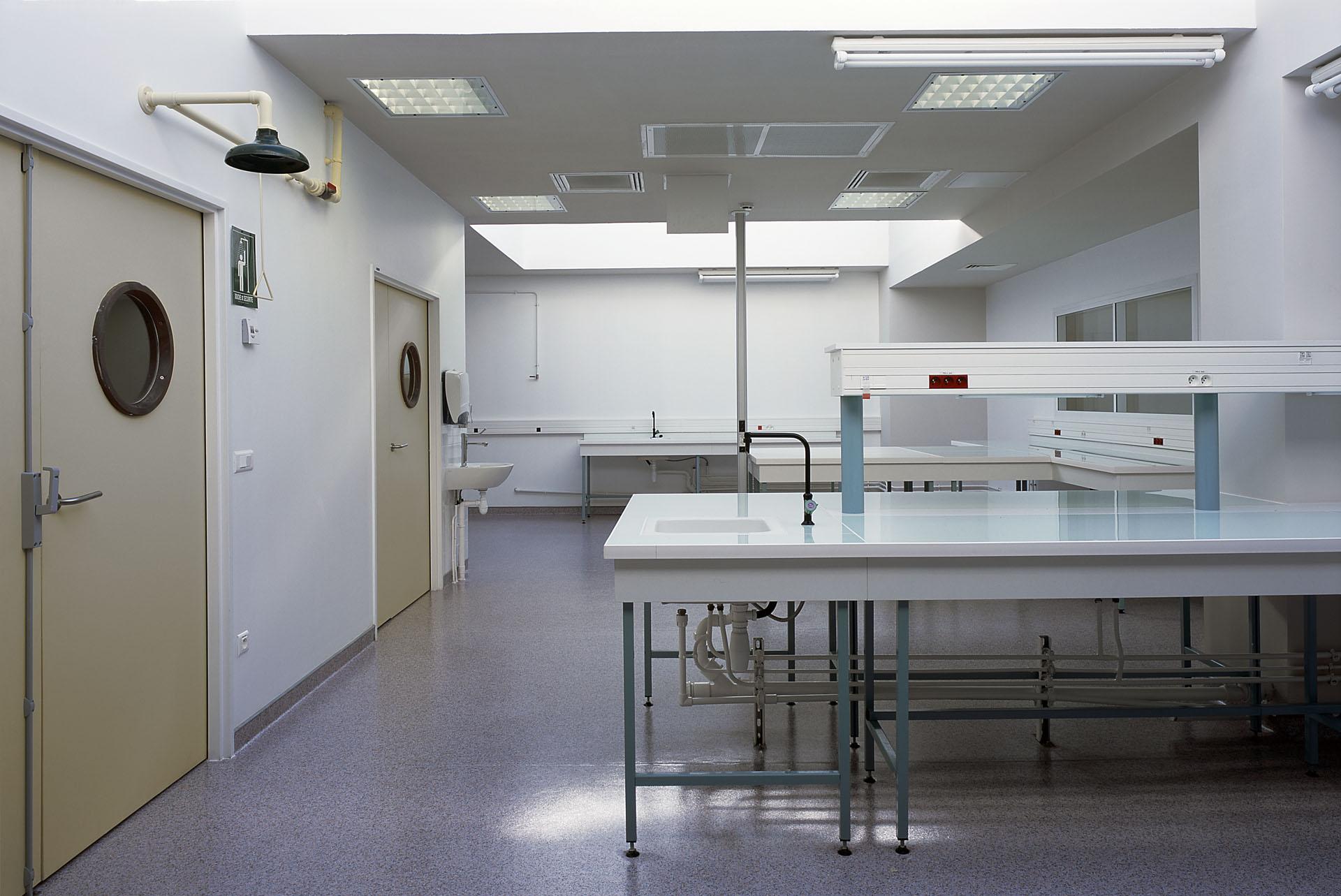 architecte laboratoire médical santé