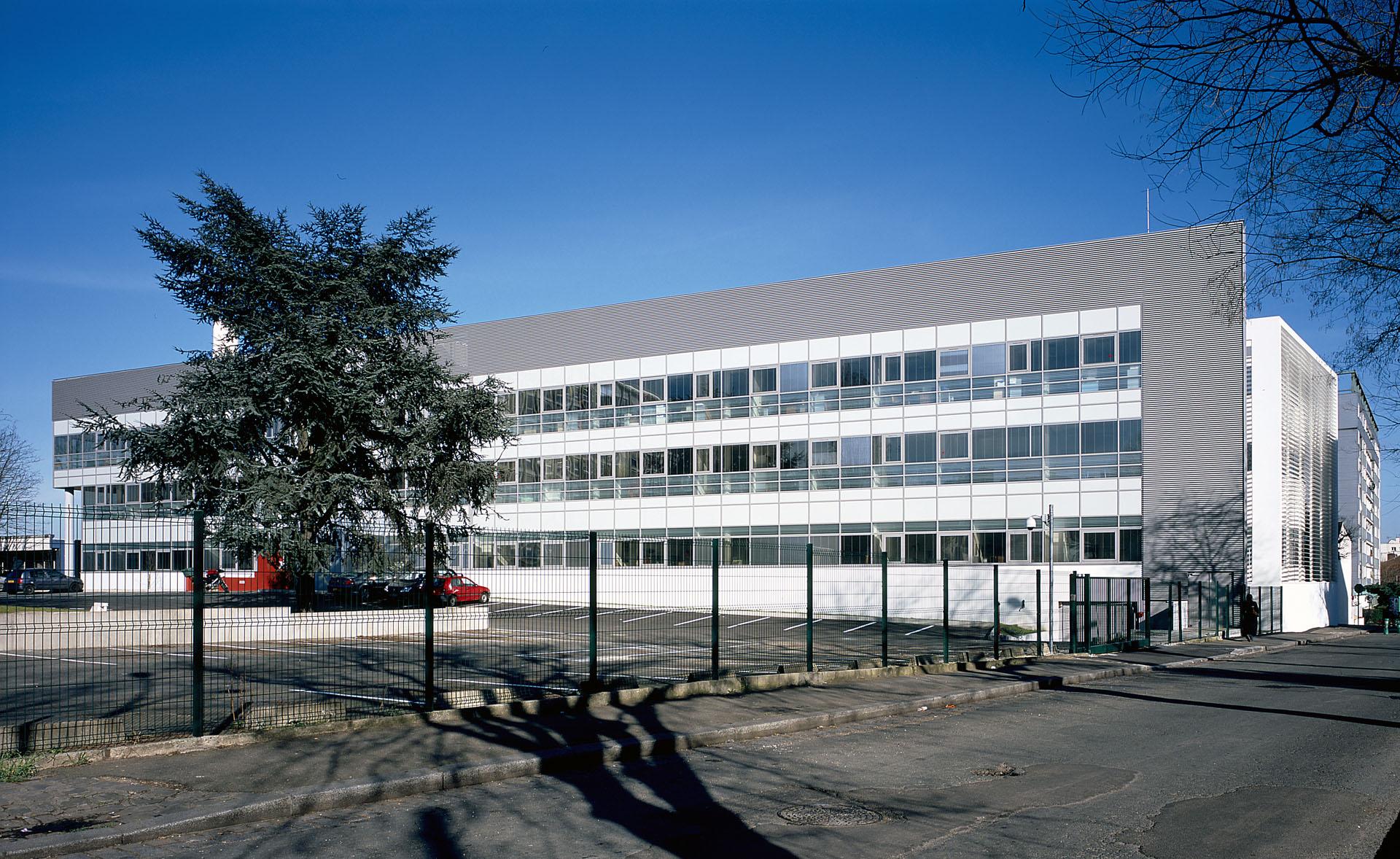 architecte bâtiment médical hôpital de Montreuil
