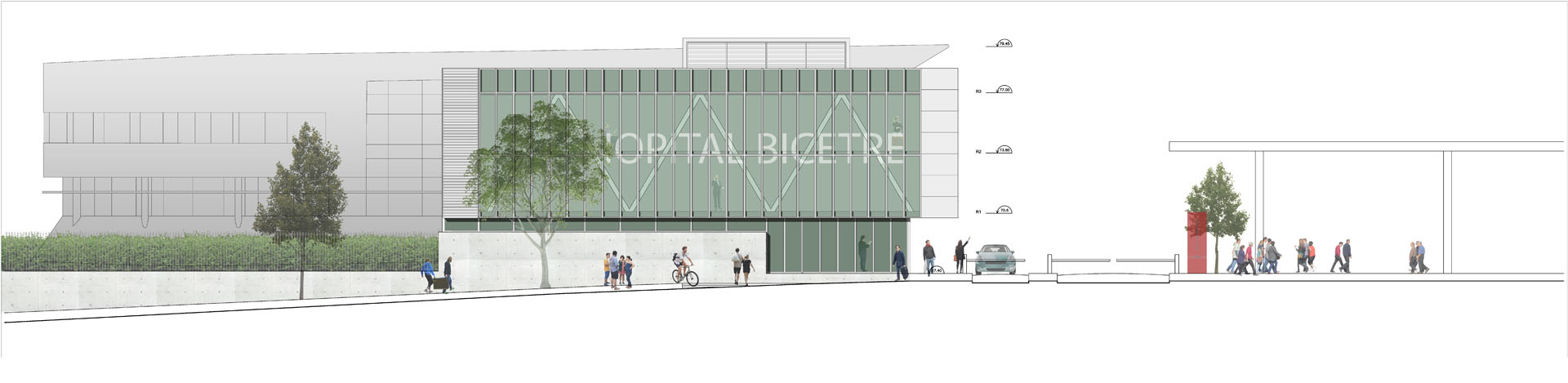 architecture contemporaine cabinet médical et santé, Bordeaux et environs