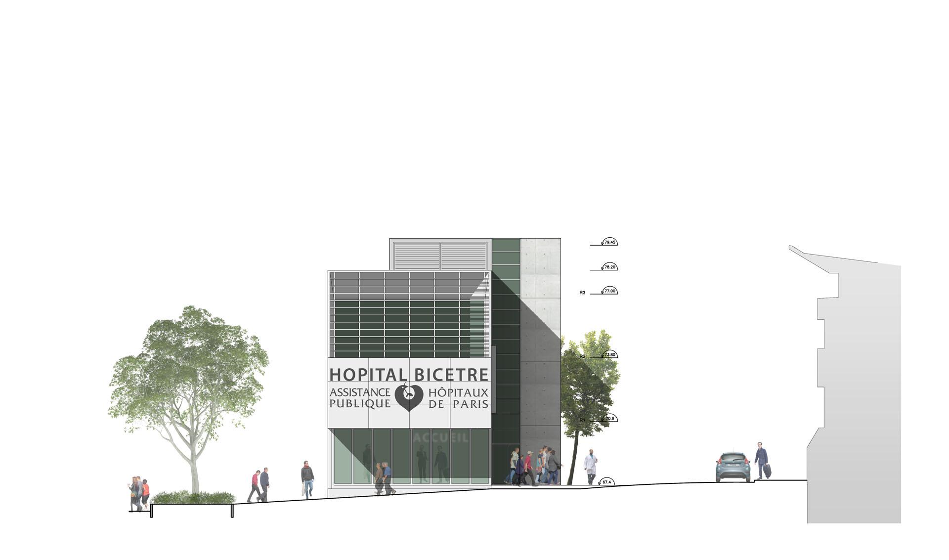 architecte médical et santé, Bordeaux et Paris