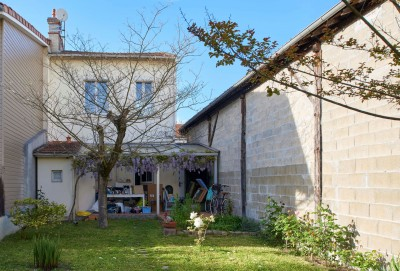 R habilitation et extension d 39 une maison de ville for Extension maison bordeaux